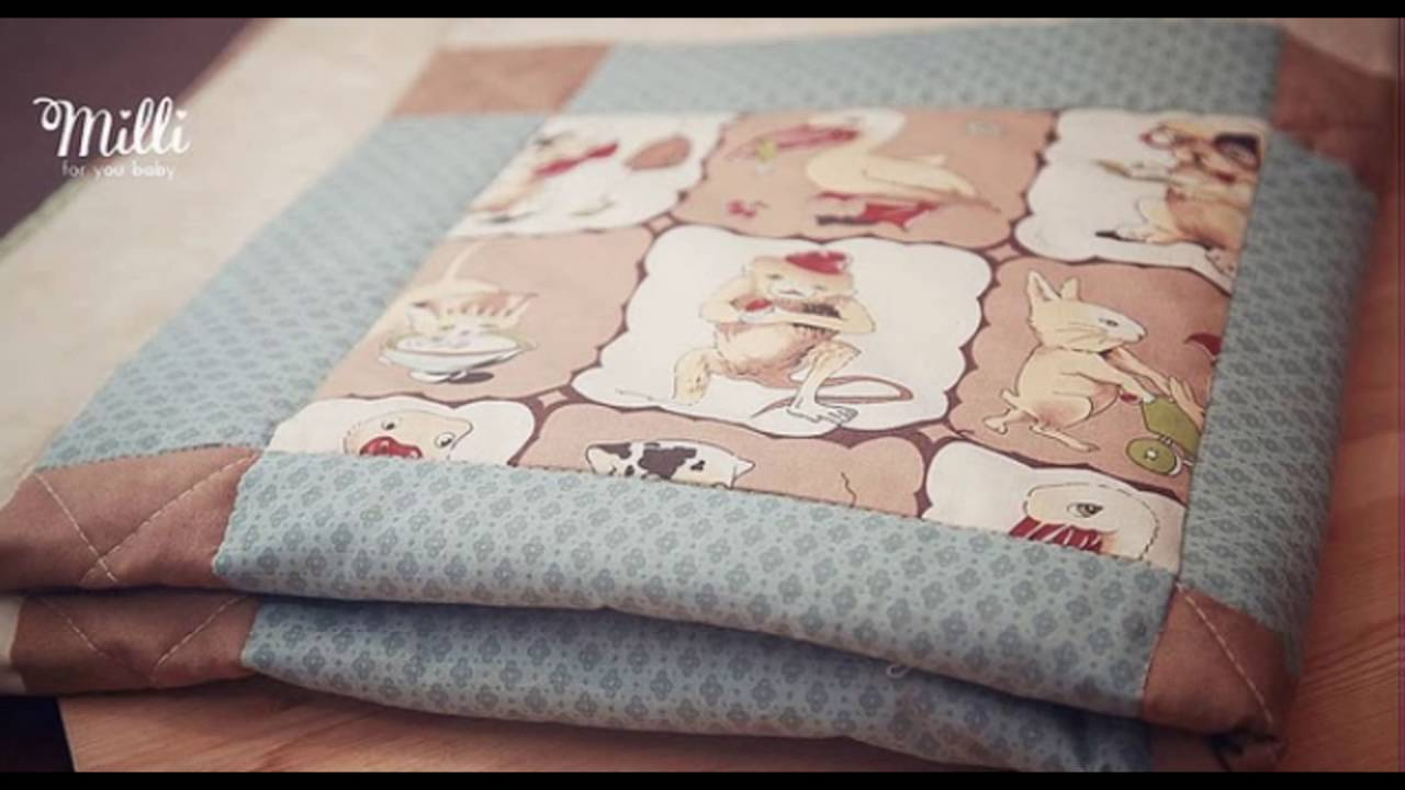 Одеяло для новорождённых в кроватку своими руками фото 538