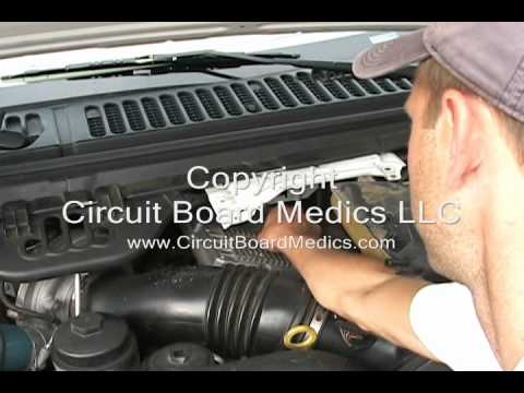 2007 Ford E450 Fuse Box Diagram Ford 6 0 Ficm Testing Amp Removal Instructional Video Youtube