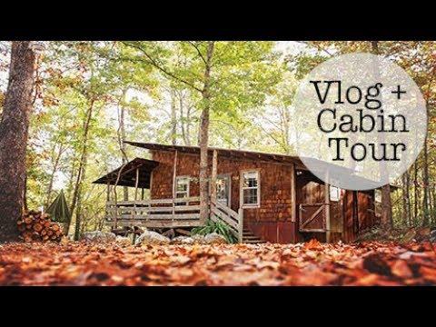 Vlog + Arkansas Cabin