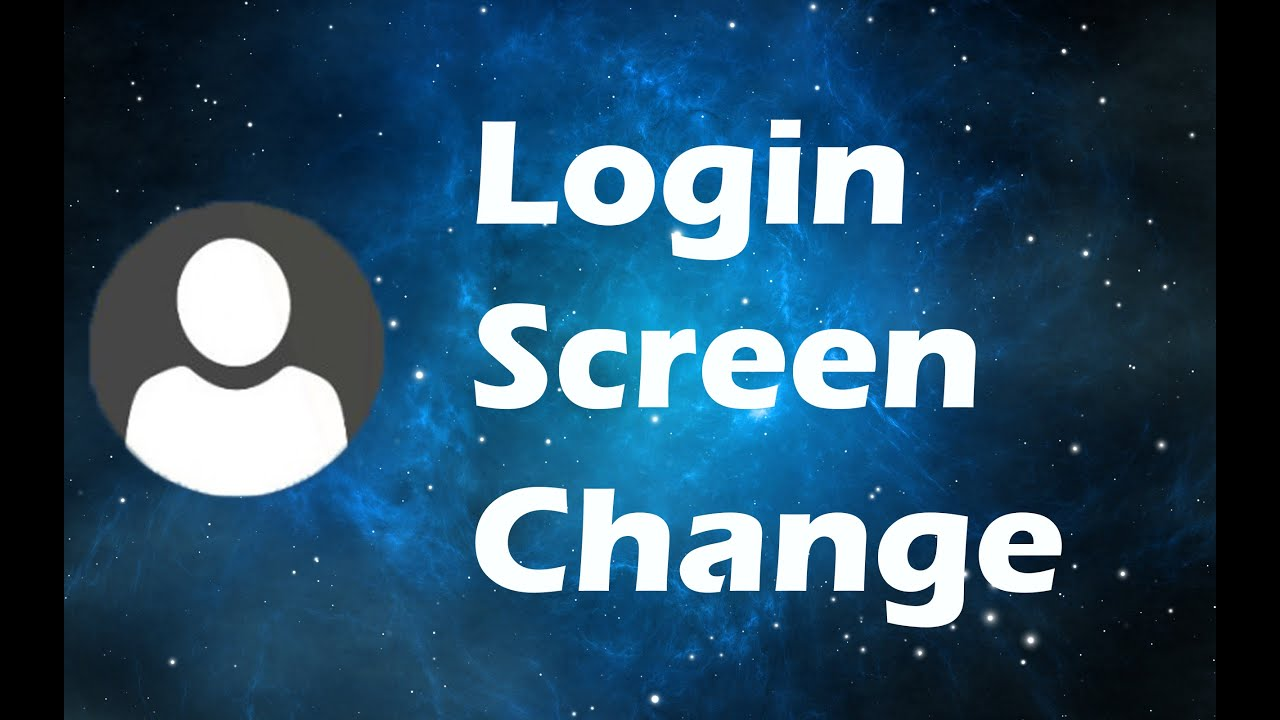 How to change the login screen in windows 10 youtube for Change background wallpaper your home screen