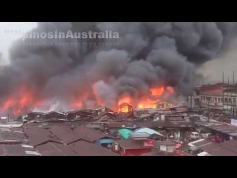 At least 100 homes Razed by Fire in Ermita Cebu City
