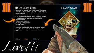 BLACK OPS 3 MULTIPLAYER - GRAND SLAM SUPPLY DROP OPENING! NEW WEAPONS, CAMOS & MORE! 2017 DLC!!!