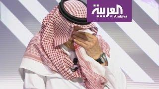 محمد التونسي يبكي تركي السديري على الهواء بحضور خالد المالك