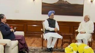 Sonia Gandhi, Manmohan Singh meet PM Modi over GST Bill standoff