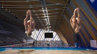 Золотая точка Москвы в прыжках в воду