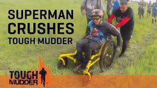 SUPERMAN: Paralyzed Athlete Crushes Tough Mudder Sacramento | Tough Mudder