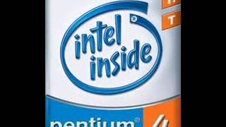 Intel logos with Windows sounds