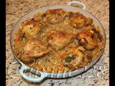 Chicken & Rice (African Food Recipe)