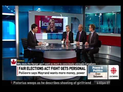 Vengeance? Tory pundit talks about what's behind Harper government's attack on Elections Canada