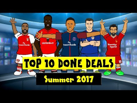 442oons Top 10 Done Deals 2017! Neymar, Lacazette, Lukaku and more!