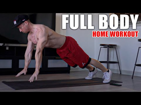 9 Minute Full Body Home Workout (NO EQUIPMENT!) | Bodyweight Exercises at Home with Tony Gonzalez