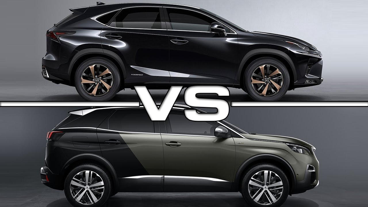 2018 Lexus NX vs 2017 Peugeot 3008 - YouTube