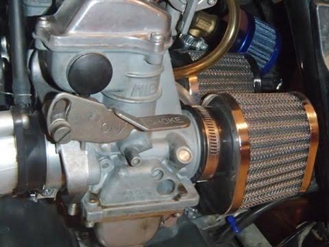 Kawasaki KZ650 CSR - carburetor installation