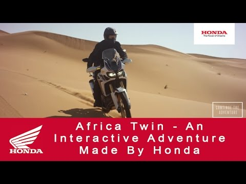 Africa Twin - An Interactive Adventure Made By Honda