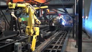 Self programming robot welding