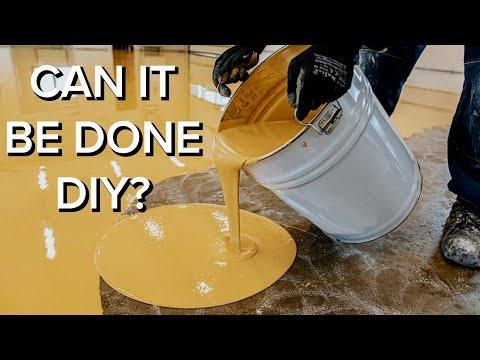 Professional Epoxy Floor Coatings vs DIY