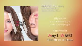 "May J. / First Love [with lyrics] (2015.1.1 ALBUM ""W BEST -Original & Covers-"")"