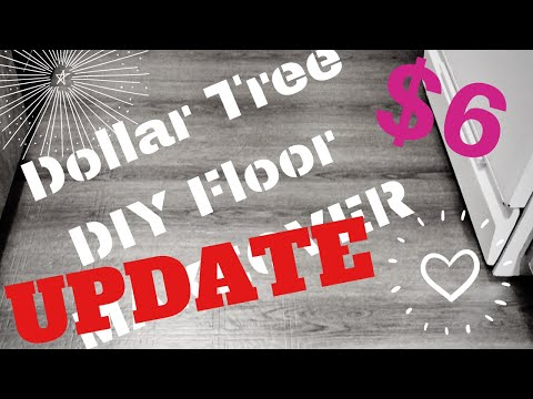 ❣️ UPDATE   DOLLAR TREE RENTAL HACK   DIY UPGRADE   REMOVABLE FLOORING   INEXPENSIVE DECOR IDEAS