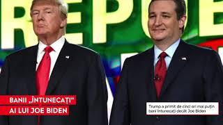 """""""Banii întunecaţi"""" din campania lui Joe Biden. Donaţii anonime de 145 de milioane de dolari"""