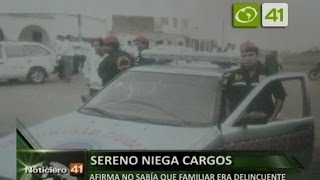 Sereno de Victor Larco involucrado en robo fue separado del cargo - Trujillo