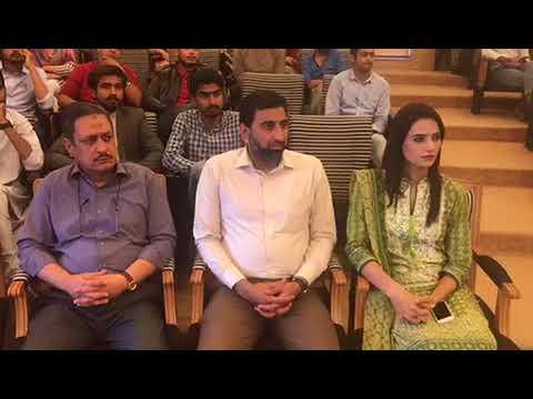 Senator Mian Ateeq giving Lecture to Students Of ZABIST University 24 October 2017