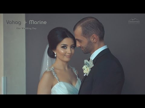 Vahag + Marine's Wedding Highlights at Bellair Banquet Hall St Garabed Church
