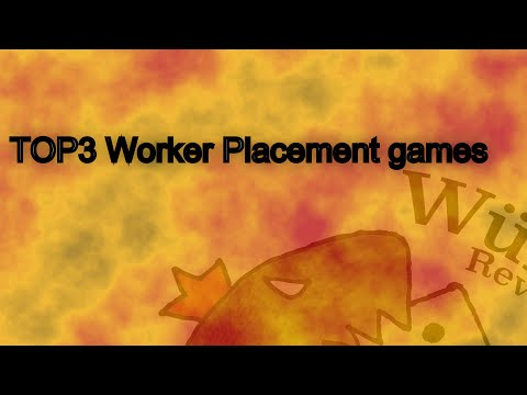 TOP3 Series: Worker Placement games - Ilja and Alina