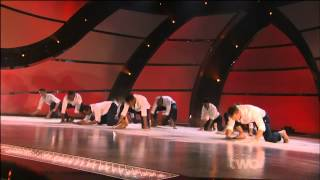 SYTYCD10 TOP 10 GUYS OPENING SHOW   SAND