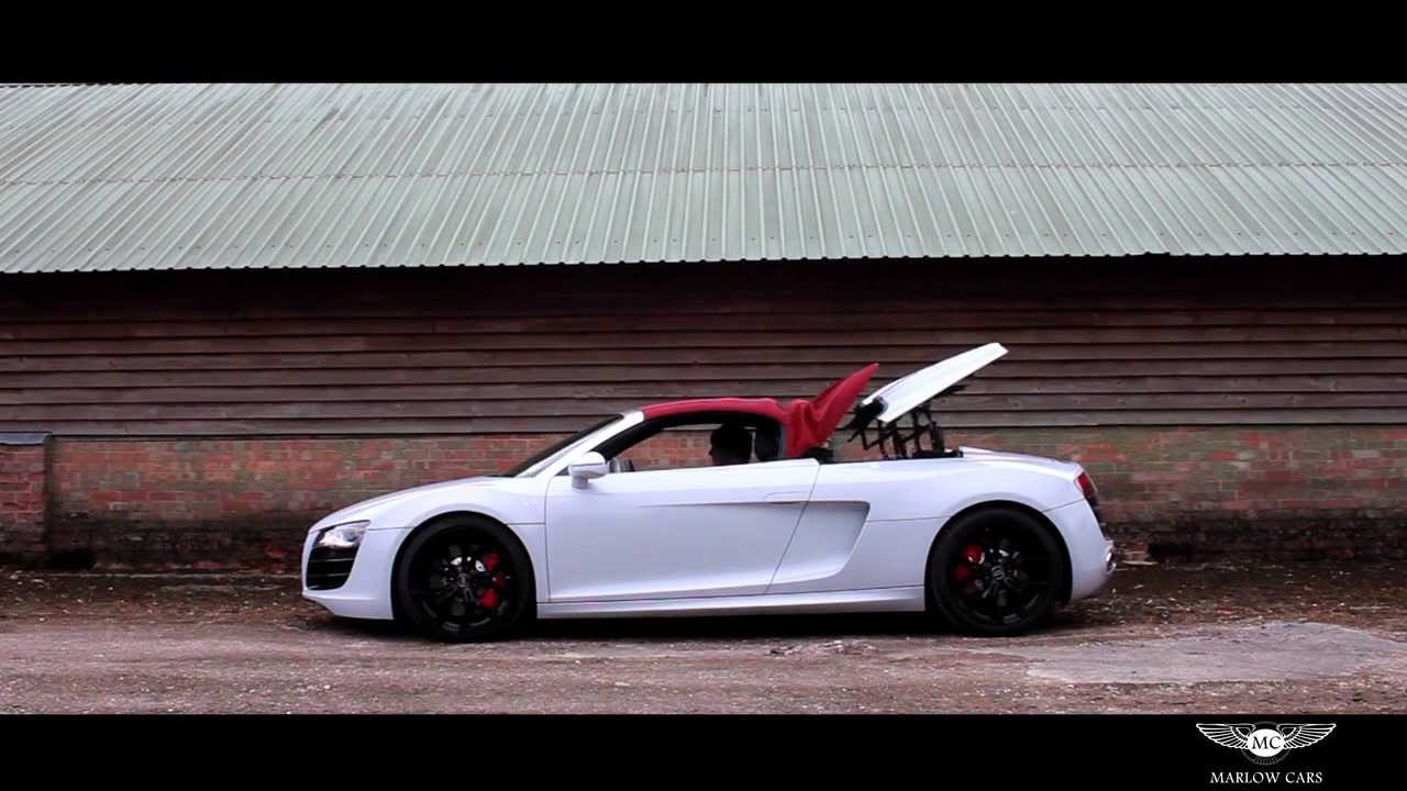 Audi R8 V10 Spyder Marlow Cars Youtube