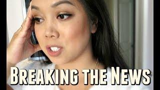 BREAKING THE NEWS TO BENJI - July 28, 2017 -  ItsJudysLife Vlogs
