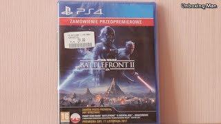 Star Wars: Battlefront II - Zamówienie Przedpremierowe - Unboxing PL