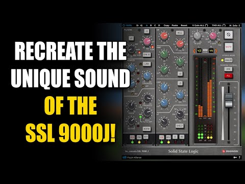 Recreate The Unique Sound Of The SSL 9000J Console!