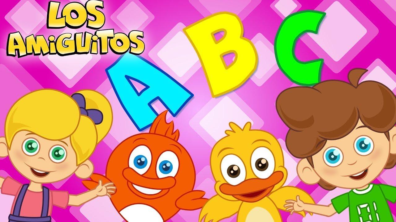 El Abecedario Cancion Infantil 30+ minutos animado | Los Amiguitos