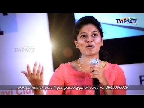 Communication Skills By Aasrita Gampa At IMPACT 2016