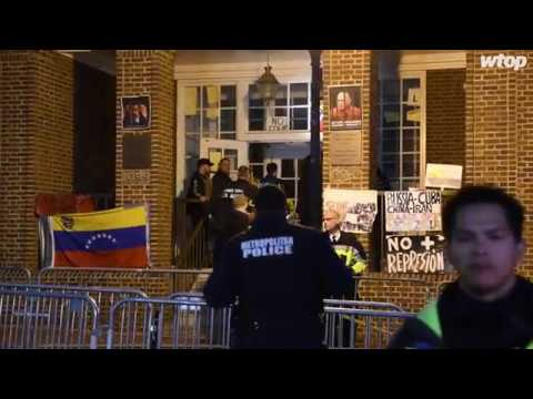 Activists at Venezuela Embassy served with eviction notice