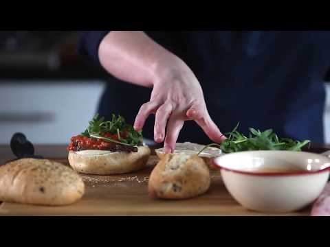 Steak Sandwich with homemade Pesto