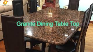 Granite Top Dining Table Xiamen Kungfu Stone Ltd