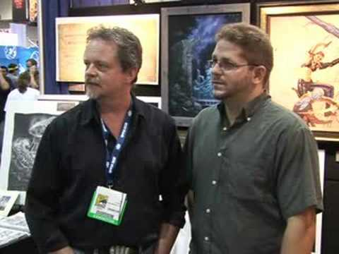 Tobias Buckell and Todd Lockwood: the Comic-Con Experience