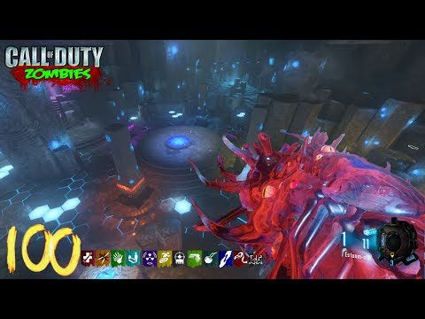 ORIGINS ROUND 100 ATTEMPT w/ MODDED WEAPONS! - BLACK OPS 3 ZOMBIE CHRONICLES DLC 5 GAMEPLAY!