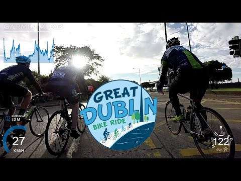 Great Dublin Bike Ride 2016 100K - Front Camera