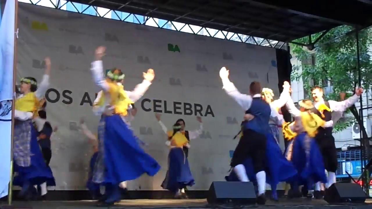 Traditional Swedish Dance / Traditionell svensk dans / Danza Tradicional Sueca