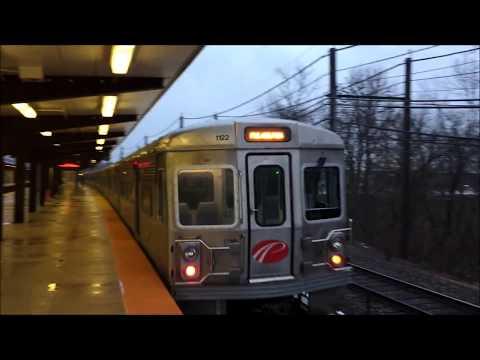 PM Rush Hour NJ Transit & PATCO Speedline Action @ Woodcrest Station