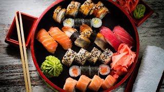 видео суши роллы