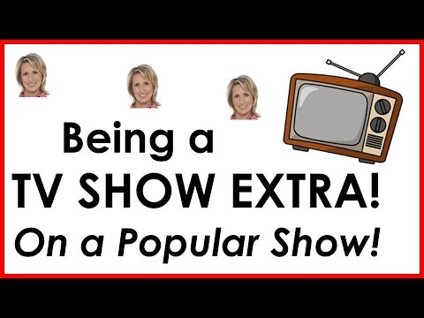 how to be an extra in tv