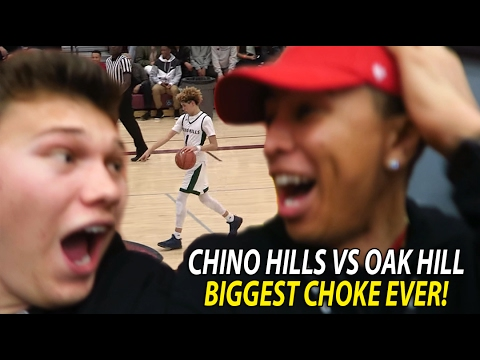 Chino Hills Vs Oak Hill Academy INSANE LIVE REACTION! Chino Hills CHOKED! 1st LOSS IN 2 YEARS!