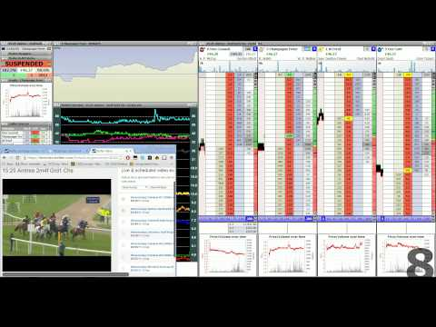 Betfair Horse Trading | Pre-race & In-Play w/ Audio