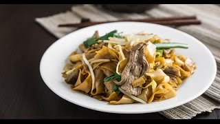 Stir-Fried Beef Chow Fun Noodles 乾炒牛河
