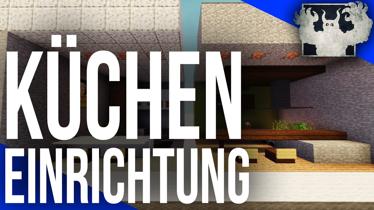 tutorial k chen einrichtung minecraft youtube. Black Bedroom Furniture Sets. Home Design Ideas