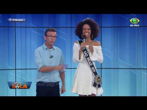 Ganhadora Do Miss São Paulo, Karen Porfiro Visita O Donos