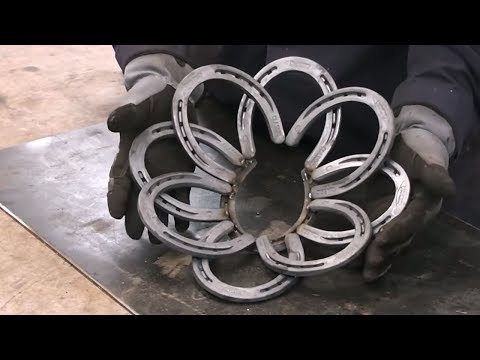 Horseshoe Bowl Welding Project Ideas for the Holidays